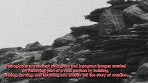Ancient Aliens On Mars: Ancient Petroglyph Of Animal hunter Found ?