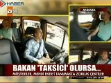 Tarım Bakanı Mehdi Eker Taksici Olursa