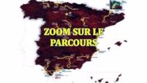 La Vuelta 2015 - Zoom sur le parcours de la 70e édition