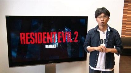 Annonce de Resident Evil 2 Remake de Resident Evil 2
