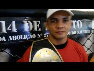 Carlos Índio fala de sua preparação para voltar ao mundo das lutas no BKF 5