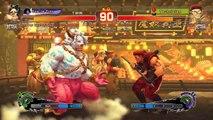 Ultra Street Fighter IV battle: Hugo vs Rolento