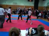 Croatia Open WAKO 2008 kickboxing semi contact Andrea Esposito Carnia kickboxing Paluzza
