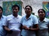 Mensaje de líderes de Barranquita, Provincia de Lamas, Región San Martín PERU