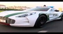 دوريات شرطة دبي الجديدة - Dubai Police New Patrol Super Cars