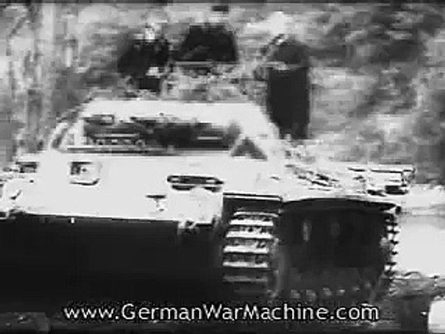 German army advancing
