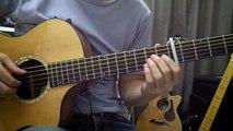 [solo guitar] ナウシカ・レクイエム  Nausicaa Requiem (Nausicaa Of The Valley Of The Wind