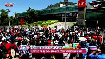 """Claudio Fariña y polémica por Camiroaga: """"Lo que más sobra son estacionamientos"""" - SQP"""