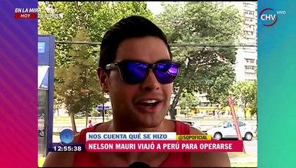 Nelson Mauri viajó a Perú para arreglarse una cirugía mal hecha - SQP