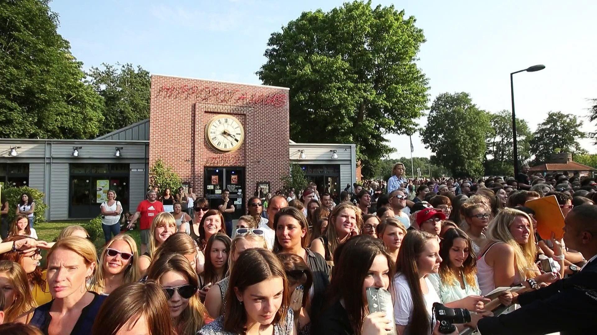 Zac Efron au Kinepolis Lomme pour l'avant-première de We Are Your Friends