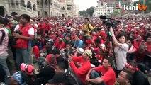 Anwar isytihar demo 1 Mei berjaya, lebih 50 ribu hadir