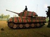 King tiger set along to Horst Wessel Lied