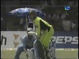 Afridi 9 Sixes in Single ODI Against India in 2005