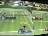 Projector + Wii + Friends = Fun