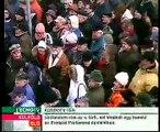 Magyar Hírlap tüntetés - Vámos György beszéde