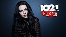 102.1 The Edge | Jessie Jessup Interviews Amy Lee of Evanescence (23/07/2015)