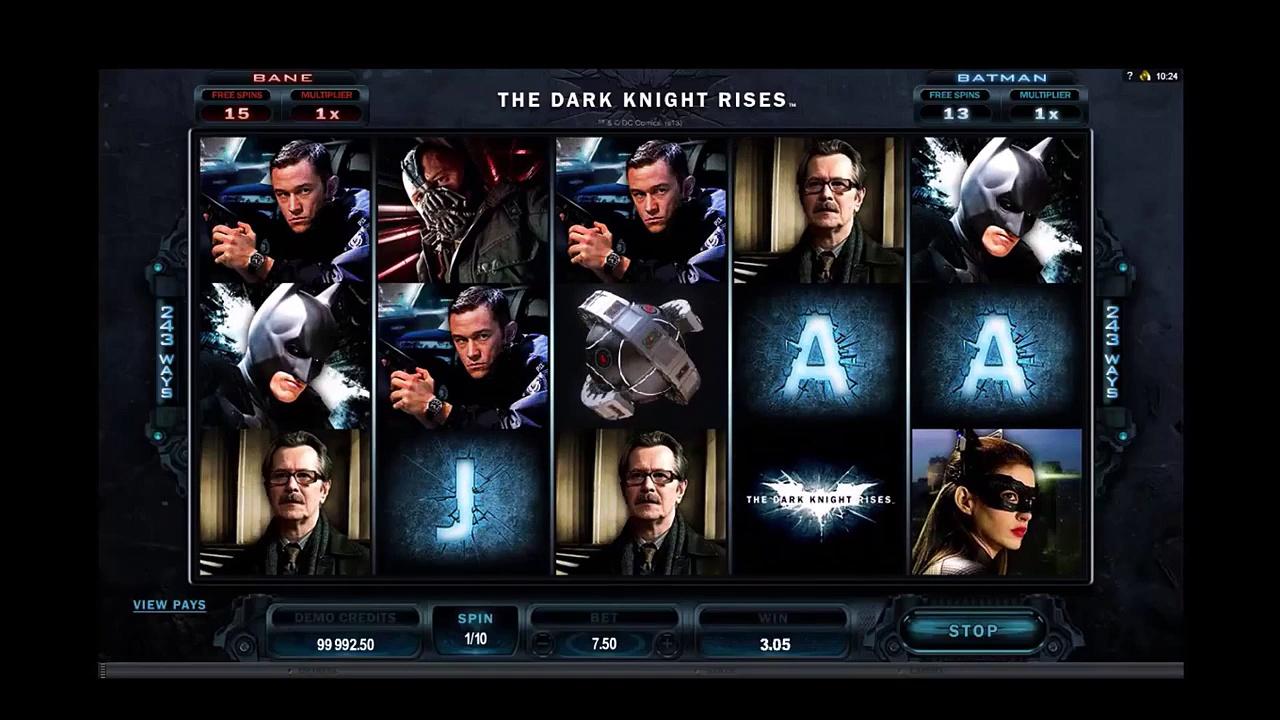 The Dark Knight Rises Slot Machine Online – Slots Monitor