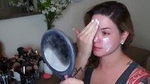 Smokey peachy makeup tutorial