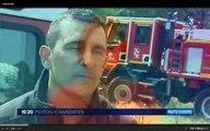Sujet Retour sur incendies France 3 Poitou-Charentes
