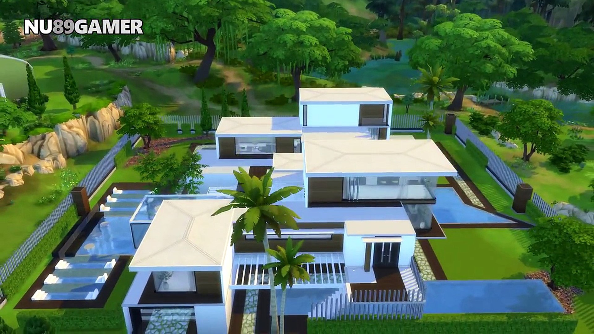 BEST MODERN HOUSE The Sims 25 - Villa Mansion