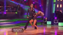 David Hasselhoff and Kym Johnson Dancing with the Stars week 1