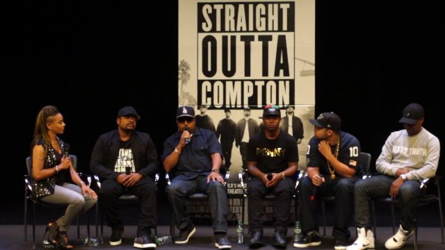 "Michael Eric Dyson & Ice Cube Discuss ""Straight Outta Compton"" & Police Brutality"