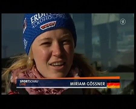Miriam Gössner spricht norwegisch
