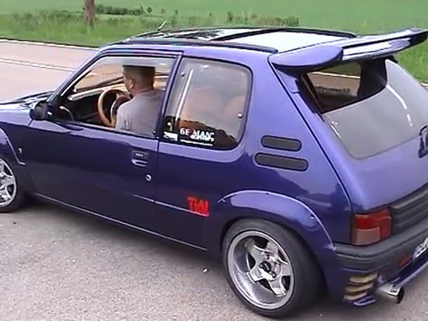 205 Gti Turbo Engine Of 405t16 Video Dailymotion