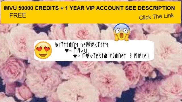 Imvu Credits Watch Free Online