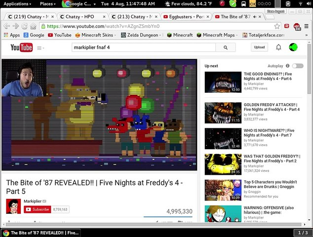 Game Theory fnaf 4 is wrong?