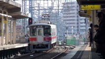 【阪神】本線 快速急行三宮行 魚崎 Japan Kobe Hanshin Railway Trains