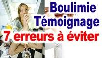 Boulimie témoignage guérison boulimie témoignage