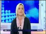 Marine Le Pen donne une leçon d'écologie aux Verts (EELV)