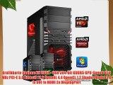 dercomputerladen Gamer PC System AMD FX-6350 6x39 GHz 8GB RAM 1000GB HDD Radeon R9 280X -3GB