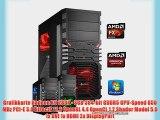dercomputerladen Gamer PC System AMD FX-6350 6x39 GHz 16GB RAM 1000GB HDD Radeon R9 280X -3GB