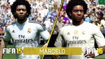 FIFA 16 vs FIFA 15 FACE COMPARISON|ps4 ps3 xbox 360 xbox one