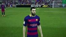 FIFA 16 Gameplay E3 2015Ardan Turan Barcelona FIFA 16 First look|ps4 ps3 xbox 360 xbox one