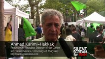 Dr. Ahmad Karimi Hakkak on green movement in Iran (Hunger Strike @ UN headquarters)