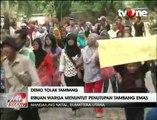 Tolak Tambang Emas, Ratusan Warga Mandailing Natal Gelar Unjuk Rasa di Kantor DPRD