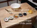 Healthy Orange Chicken Recipe   Chinese Chicken Recipe