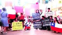 Chilenos en Nueva York apoyan a estudiantes chilenos