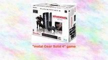 Playstation 3 80gb Metal Gear Solid 4 Guns of