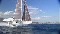 L'Hydroptère, premier bateau à grande vitesse