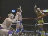 Paul Orndorff & Harley Race vs Hulk Hogan & Roddy Piper (MSG Nov-86)