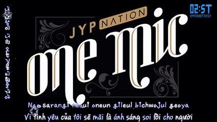 vietsub kara 2st dont leave me jyp nation jyp nation korea 2014 one mic