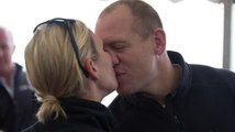 Zara Phillips Shares Good Luck Kiss Before Boating Race