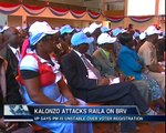 KALONZO ATTACKS RAILA ON BVR