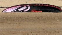 Aberavon Sand Pirates Aberavon Kite buggy Jumping flexifoil 11 08 2013