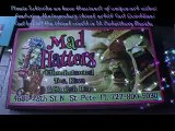 Carl Quintiliani with 100% Street  Credit Performs art show @ Mad Hatters hookah tea bar in St Pete4