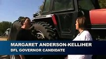 Tractor-driving Candidate For MN Gov
